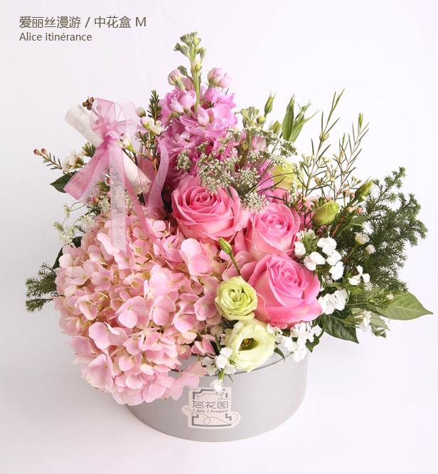 花艺师将在不影响花艺整体风格的情况下